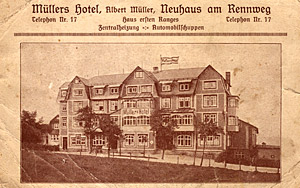Hotel Historie 3